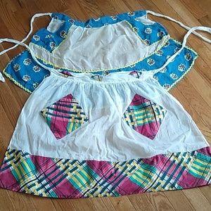 {vintage} aprons